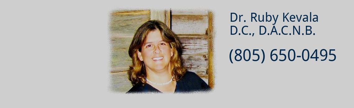About Dr. Ruby Kevala, D.C., D.A.C.N.B.